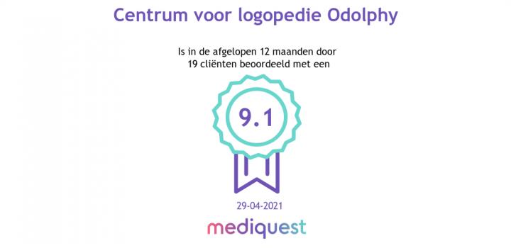 Mediquest beoordeling Odolphy